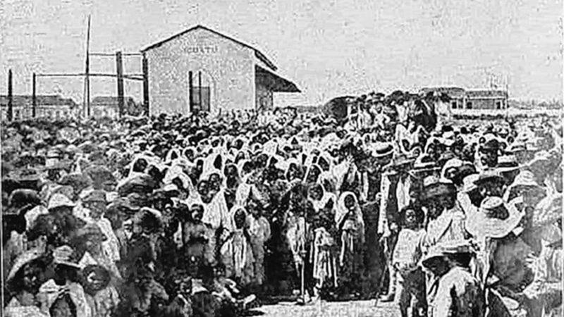 Seca (1877 a 1879): maior tragédia humanitária da história do Brasil.
